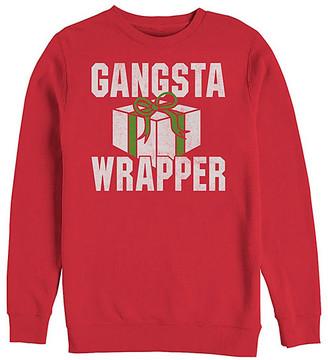 Fifth Sun Men's Sweatshirts and Hoodies RED - Red 'Gansta Wrapper' Crewneck Sweatshirt - Men