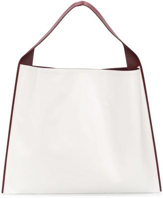 Jil Sander Constrast Trim Shoulder Bag