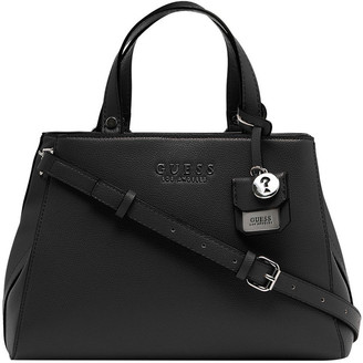 GUESS VY708305BLA Rowe Double Handle Satchel