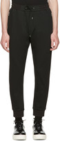 McQ by Alexander McQueen Black Mix Zip Lounge Pants