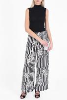 Paul & Joe Victoire Floral -Print Silk Trousers