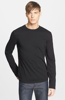 James Perse Men's Long Sleeve Crewneck T-Shirt