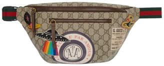 Gucci Beige GG Supreme Courier Belt Bag