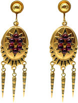 One Kings Lane Vintage Victorian Revival Garnet Earrings