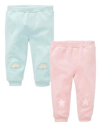 Kd KD Baby Girl Pack of Two Joggers