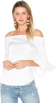 Central Park West Verdi Square Off Shoulder Top