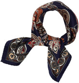 Sam Edelman Paisley Pattern Silk Scarf