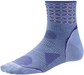 Smartwool PhD Run Ultralight Pattern Mini Socks - Merino Wool, 3/4 Crew (For Women)