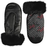 Auclair Furry Mittens - Insulated, Faux Fur (For Women)
