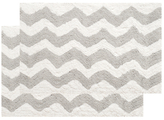 Safavieh Plush Bath Rugs (Set of 2)