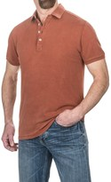 Jeremiah Cotton Polo Shirt - Short Sleeve (For Men)