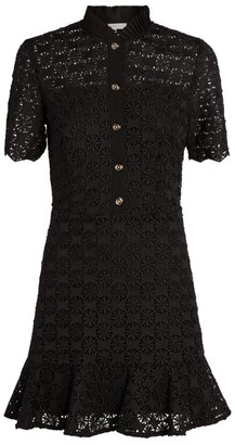 Sandro Lace Mini Dress