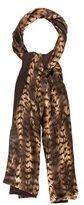 Longchamp Silk & Wool Scarf