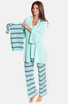 Olian Women's Four-Piece Maternity Sleepwear Gift Set