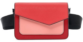 Botkier Cobble Hill Colorblock Leather Belt Bag