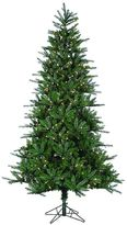 Sterling 7 1/2-ft. Clear Pre-Lit Natural Cut Franklin Spruce Artificial Christmas Tree - Indoor