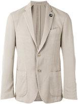 Lardini classic blazer - men - Cotton/Viscose/polyester - 50