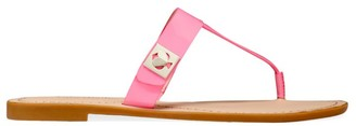 Kate Spade Cyprus Leather Thong Sandals