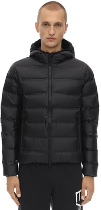 Emporio Armani Ea7 Hooded Mountain Down Jacket