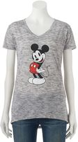 Disney Disney's Mickey Mouse Juniors' Posing Graphic Tee