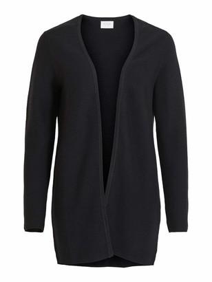 VILA CLOTHES Women's Vilalaine Knit L/s Long Cardigan-Noos Sweater
