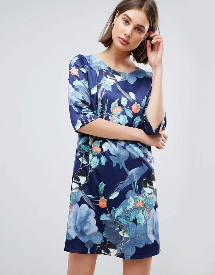 Lavand Floral Shift Dress