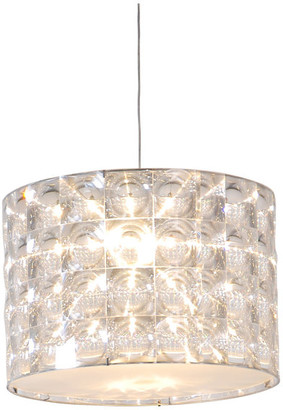 "Innermost Lighthouse LED Drop Pendant, Clear Shades, 11.8""x11.8"""