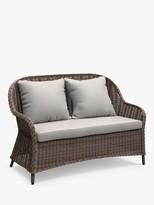 John Lewis & Partners Rye 2-Seat Garden Sofa, Natural