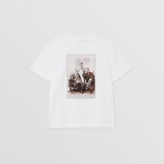 Burberry Childrens Collage Print Cotton T-shirt