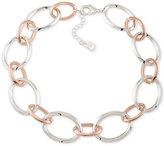 Lauren Ralph Lauren Two-Tone Open Link Collar Bracelet
