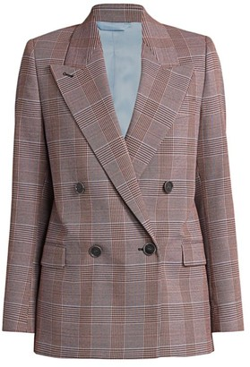 Acne Studios Check Wool-Blend Suiting Jacket