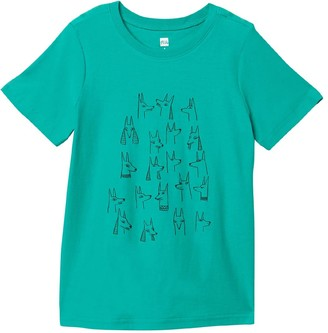 Tea Collection Brave Jackal Dogs Graphic Tee