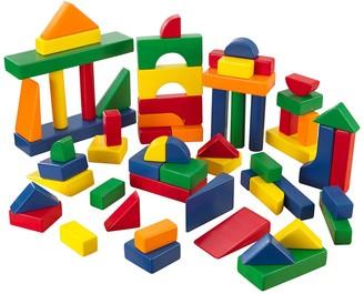 Kid Kraft 60-Piece Wooden Block Set - Primary