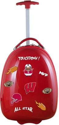 Youth Wisconsin Badgers Wheeled Pod Luggage