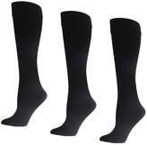 Linea By Louis Dell'olio Body Ultra Warm Fleece Lined Trouser Socks - 3 Pack