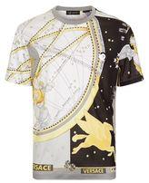 Versace Horoscope Print T-shirt