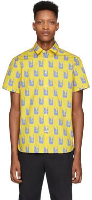 Kenzo Yellow and Purple Shrimp Shirt