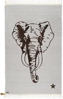Varanassi Elephant cotton carpet