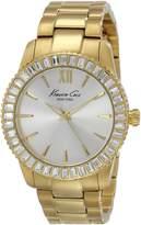 Kenneth Cole New York Women's KC4989 Classic Analog Display Japanese Quartz Gold Watch