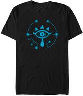 Fifth Sun Men's Tee Shirts BLACK - Legend of Zelda Black Breath of the Wild Eye Fill Tee - Men