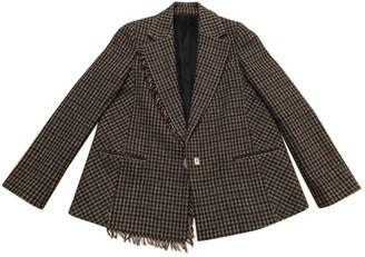Acne Studios \N Khaki Wool Jackets