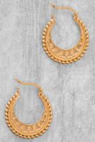 Satya Interwoven Gold Hoop Earrings