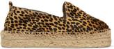 Manebi Accra Cheetah-print Calf Hair Espadrilles - Leopard print
