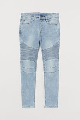 H&M Skinny Biker Jeans
