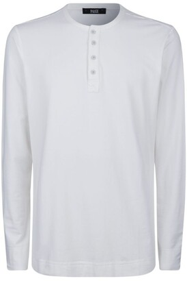 Paige Long-Sleeved Henley Top