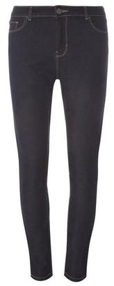 Dorothy Perkins Womens Indigo 'Ashley' Stretch Straight Leg Jeans