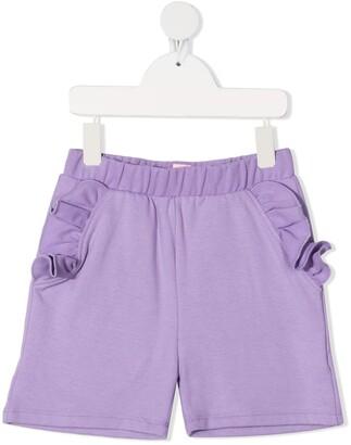 Wauw Capow By Bangbang Ruffle-Trimmed Shorts