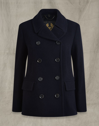 Belstaff NAVAL PEACOAT navy UK 8 /