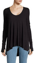MICHAEL Michael Kors Malibu Thermal Long Sleeve Top