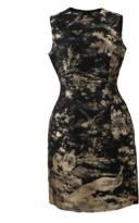 Oscar de la Renta Jacquard Bottle Dress